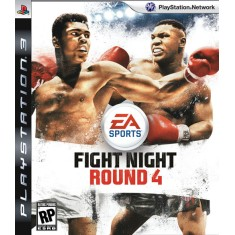 Jogo Fight Night Round 4 PlayStation 3 EA