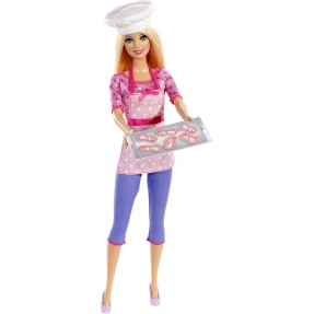 Boneca Barbie Chef de Cookies Mattel