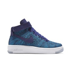Tênis Nike Feminino Casual Air Force 1 Flyknit Mid