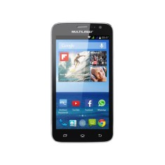 Smartphone Multilaser MSX 4GB P3304 8,0 MP 2 Chips Android 4.4 (Kit Kat) Wi-Fi 3G