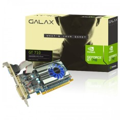 Placa de Video NVIDIA GeForce GT 710 2 GB DDR3 64 Bits Galax 71GPH4HXJ4FN