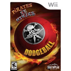 Jogo Pirates vs Ninjas Dodgeball Wii SouthPeak Games