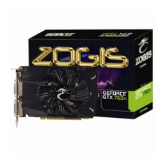 Placa de Video NVIDIA GeForce GTX 750 Ti 2 GB GDDR5 128 Bits Zogis ZOGTX750TI-2GD5