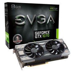 Placa de Video NVIDIA GeForce GTX 1070 8 GB GDDR5 256 Bits EVGA 08G-P4-6274-KR