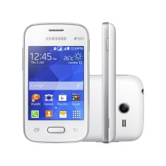 Smartphone Samsung Galaxy Pocket 2 Duos 4GB G110 2,0 MP 2 Chips Android 4.4 (Kit Kat) 3G Wi-Fi