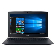 "Notebook Acer Aspire V Nitro Intel Core i7 6700HQ 6ª Geração 16GB de RAM HD 1 TB Híbrido SSD 256 GB 15,6"" GeForce GTX 960M Windows 10 Home VN7-592G-77C3"