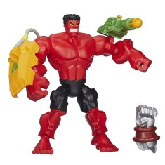 Boneco Red Hulk Super Hero Mashers A6833 - Hasbro