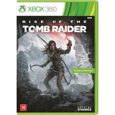Jogo Rise of the Tomb Raider Xbox 360 Crystal Dynamics
