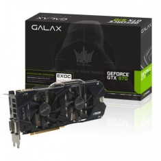 Placa de Video NVIDIA GeForce GTX 970 4 GB GDDR5 256 Bits Galax 97NQH6DNH8FL
