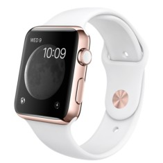Relógio Apple Watch Edition Rose Gold Sport Band