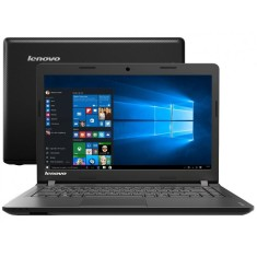 "Notebook Lenovo IdeaPad 100 Intel Celeron N2840 4GB de RAM HD 500 GB 14"" Windows 10 Home 100"