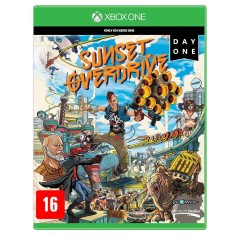 Jogo Sunset Overdrive Day One Xbox One Microsoft