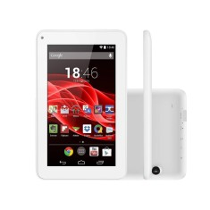 "Tablet Multilaser Supra 8GB LCD 7"" Android 4.4 (Kit Kat) 2 MP NB200"