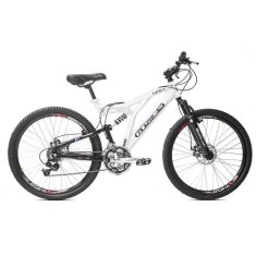 Bicicleta Mountain Bike GTSM1 21 Marchas Aro 26 Suspensão Full Suspension Freio a Disco Walk Full
