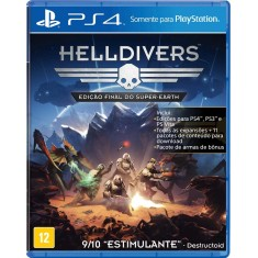 Jogo Helldivers PS4 Arrowhead Game Studios